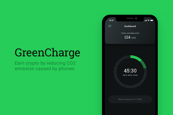 Green Charge | Earn Crypto by Reducing CO2 Emissions Caused by Phones