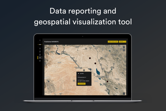 Data Reporting and Geospatial Visualization Tool