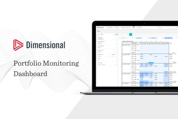 Dimensional Investing | Portfolio Monitoring Dashboard