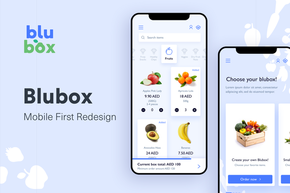 Blubox: Mobile Site Redesign