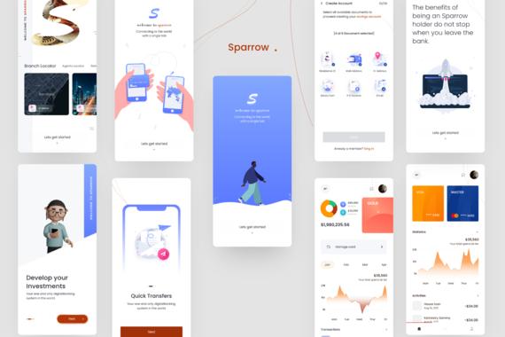 Sparrow mobile app