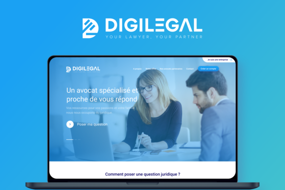 Digilegal: Branding and UI Design