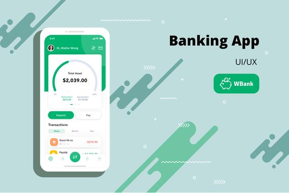 Banking App UX/UI Design
