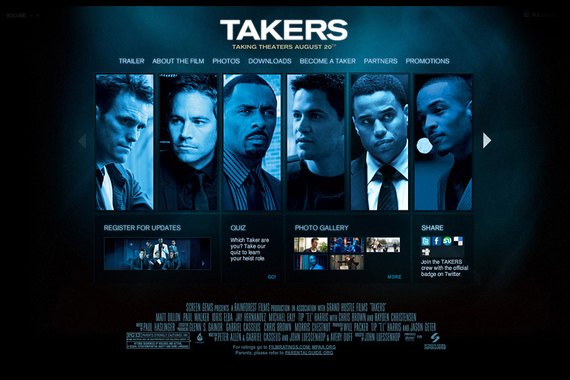 """The Official Website for The Action Adventure """"Takers"""""""
