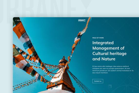 Minimalistic Web Page