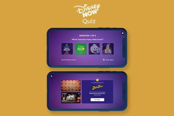 DisneyNOW Quiz