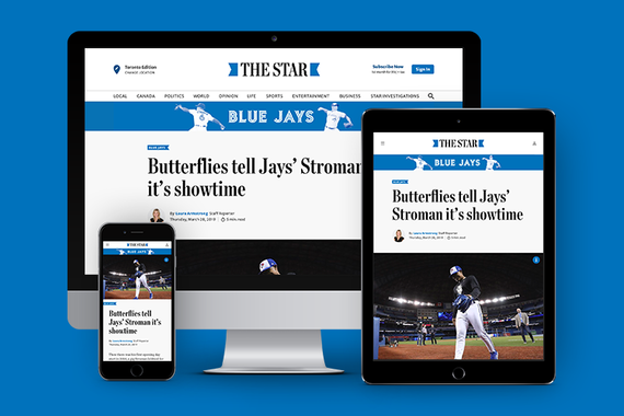 The Toronto Star - Website Redesign