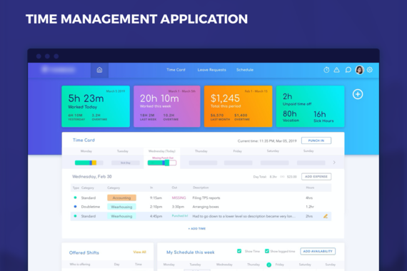 Time Management App