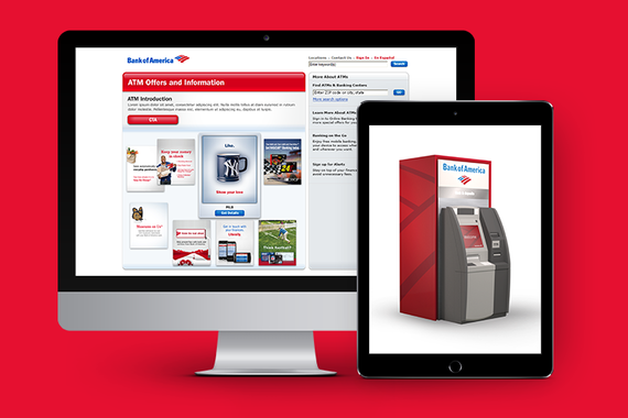 Bank of America - ATM and Online Advertisments