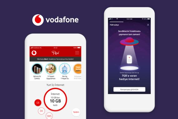 My Vodafone App | Stories