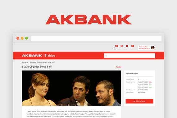 Akbank | Web Intranet Design