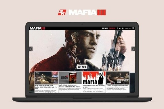 2K Games Mafia3 Website