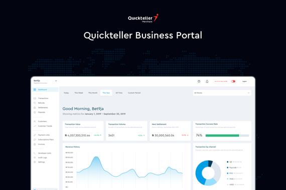 Quickteller Business Portal