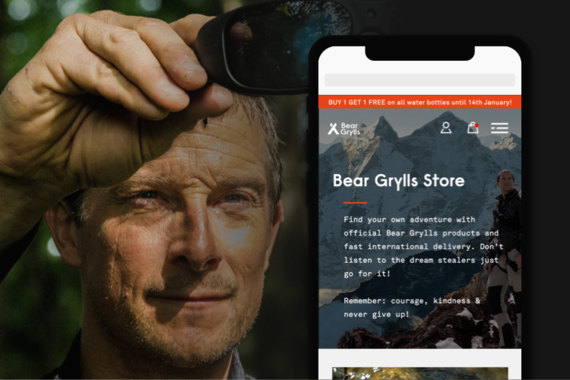 Bear Grylls: UI Design