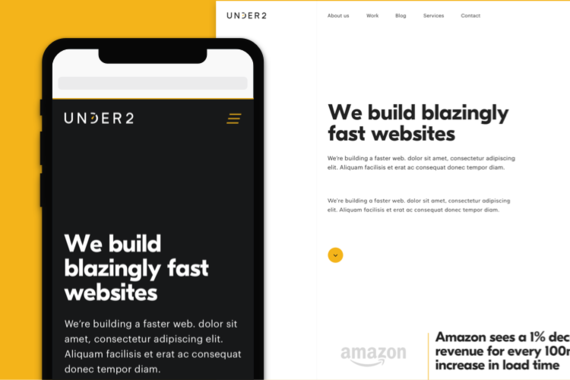 Under2: Website Design