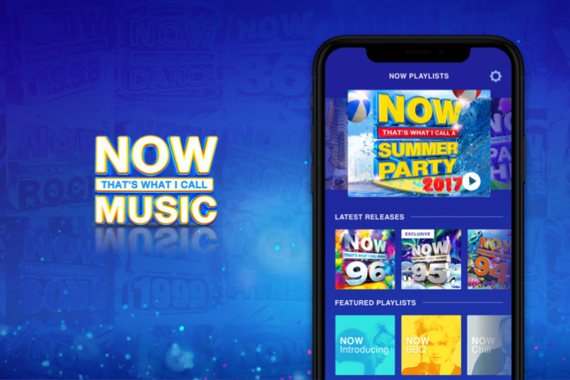 NOW Music App: Design