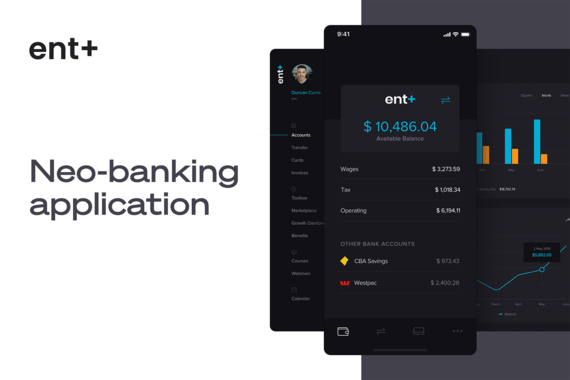Ent Plus | Web and Mobile App