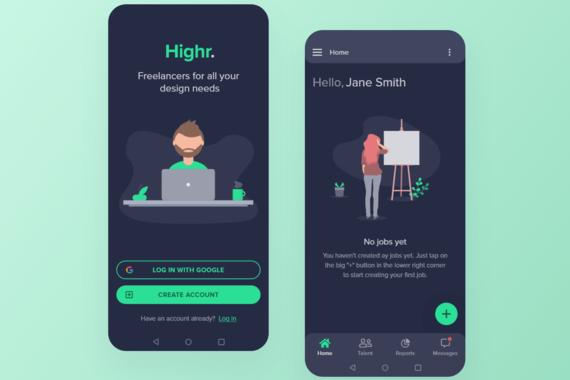 Highr Mobile App