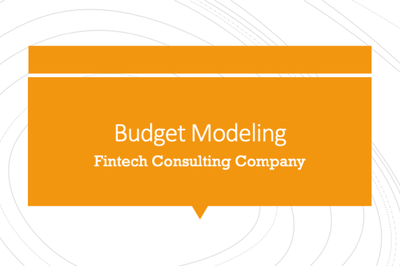 Regional Budget for Fintech Consulting Company