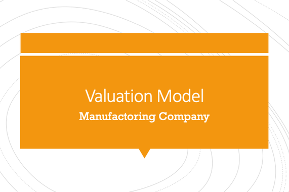Valuation Model for UK-based Manufacturing Company
