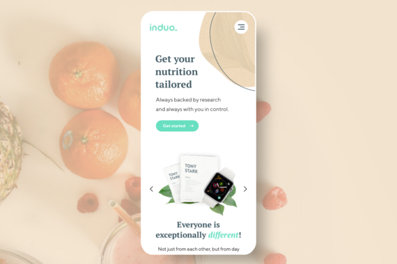 Induo: Smart Personalized Nutrition