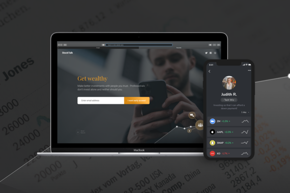Design and Prototyping for a New Stock Trading App