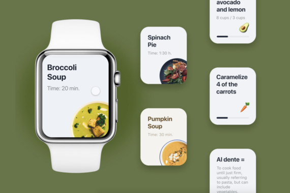 Apple Watch App for Cooking