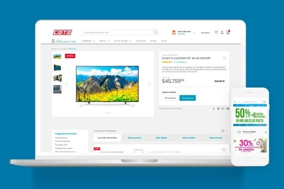 eCommerce Website for Coto