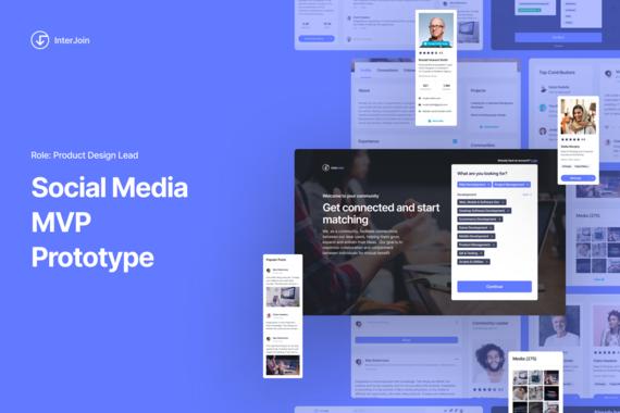 InterJoin     Social Media App     Product Design Lead