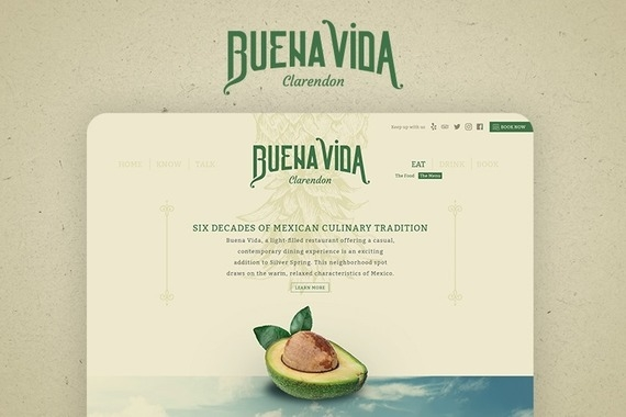 Buena Vida Restaurant Branding and Website Design