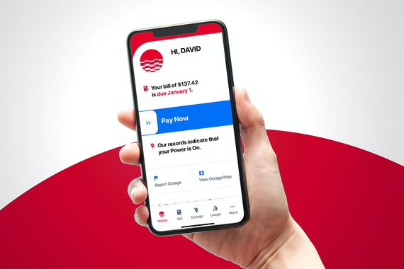 Mobile App for an Energy Company