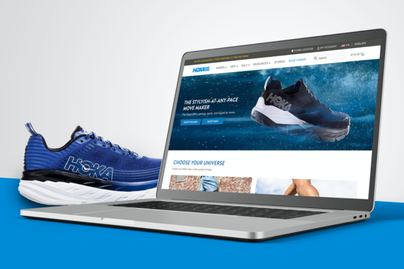 Website Refresh for a Running Shoe Company