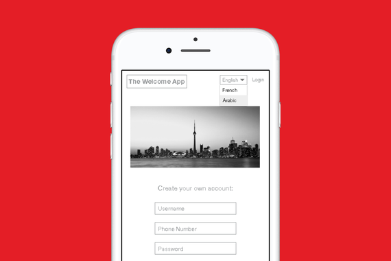 The Welcome App for Together Project