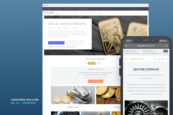 Jaggards Bullion - Fintech