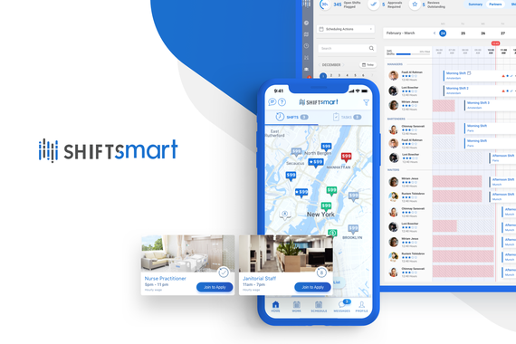 Shiftsmart | Marketplace App for Flexible Work