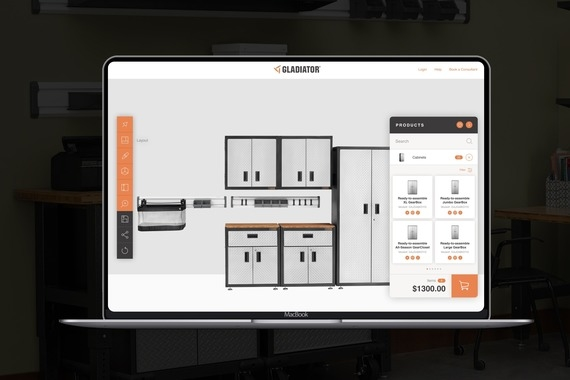 Interactive Garage Builder