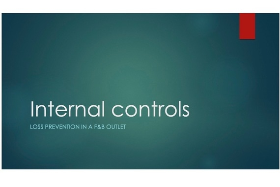 Internal Controls: Loss Prevention