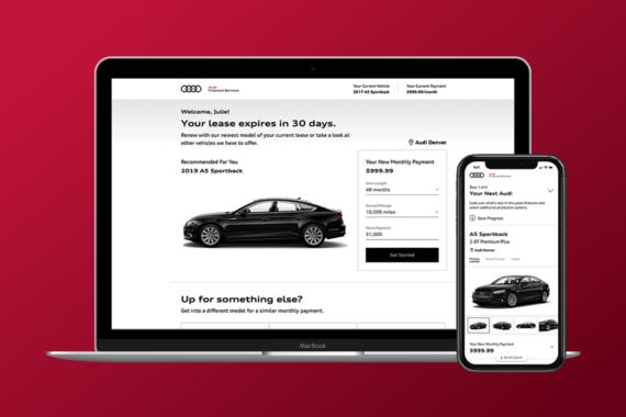 Lease Retention Platform for Audi