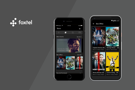 My Foxtel Mobile App | iOS/Android