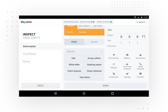 Mobile App for Dispatchr