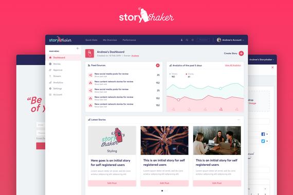 StoryShaker - Social Media Management Platform