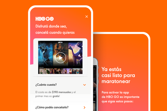 HBO GO - Naranja Partnership