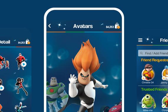 Disney Spark Chat App