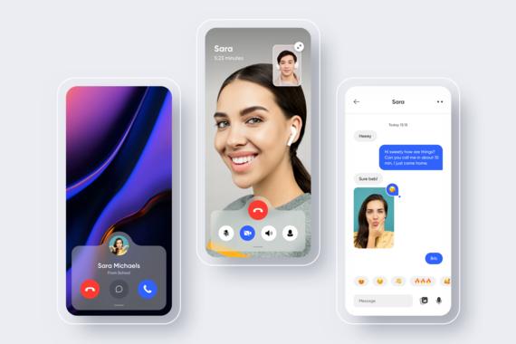 iOS Communication Concept