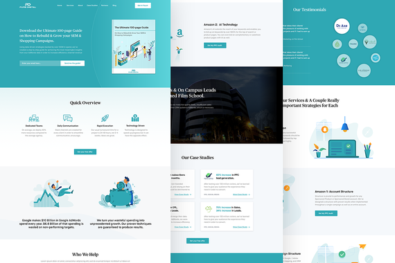 Pure Digital - Website Design