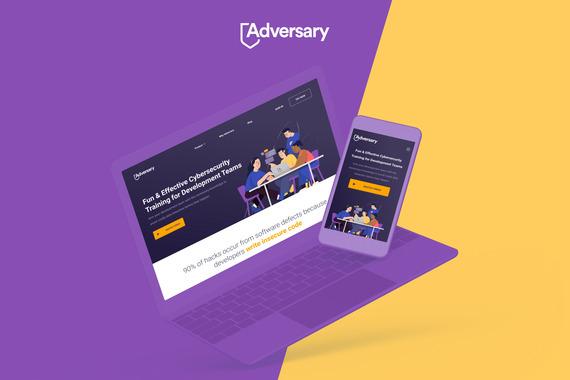 Adversary | Responsive Website and Platform Design