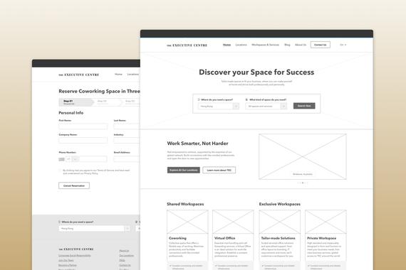 Responsive Website for Premium Workspace Solutions