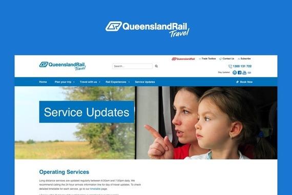 Service Update: Queensland Rails Travel