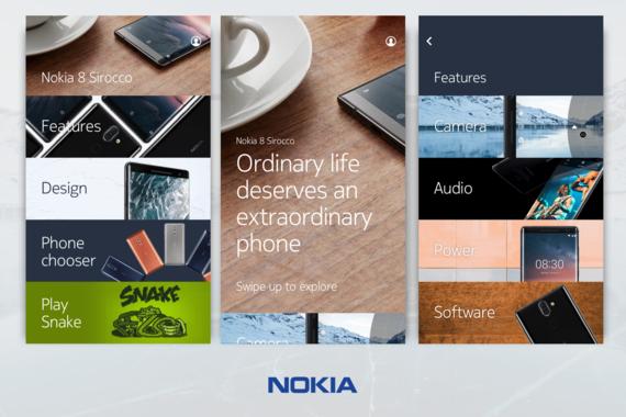 Nokia: Retail Demo Experience