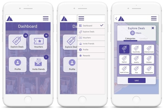 Augmented Reality – Deal Finder App